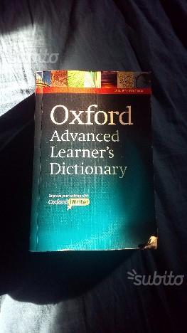 Dizionario monolingue inglese - OXFORD