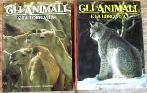 Gli animali e la loro vita due volumi