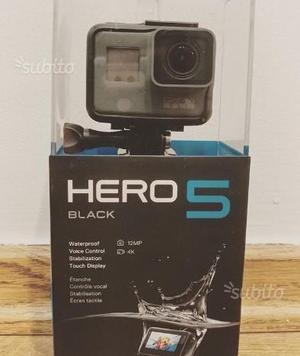GoPro Hero 5 Black nuova ancora imballata