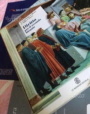 Libro scolastico di diritto per il secondo biennio
