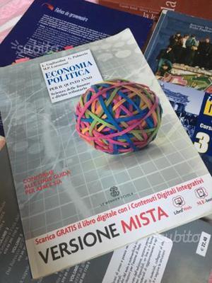 Libro scolastico di economia politica