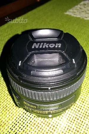 Nikon 50mm f 1:1.8