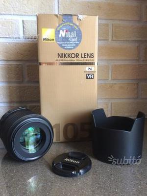 Nikon AF-S VR Micro NIKKOR 105mm 2.8
