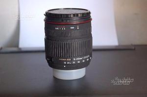 Obiettivo Sigma  dc f:  D - Nikon