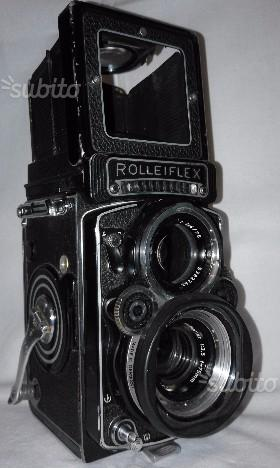 Rolleiflex 6x6 Zeiss Planar