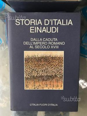 Storia d'italia einaudi