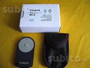Telecomando remote CANON RC-D 600D