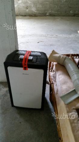 Condizionatore portatile ariston a mp 10 cbx posot class - Condizionatore portatile tubo finestra ...