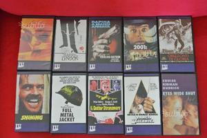 10 Videocassette VHS Kubrick + OMAGGI
