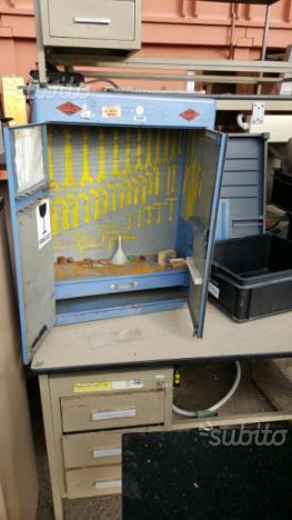 Armadio - vagone -cassetta porta attrezzi