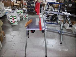 Sega a pendolo banco a rulli per legno omec posot class for Slitta per banco sega