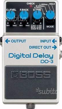 Boss Boss Digital Delay DD3 praticamente nuovo