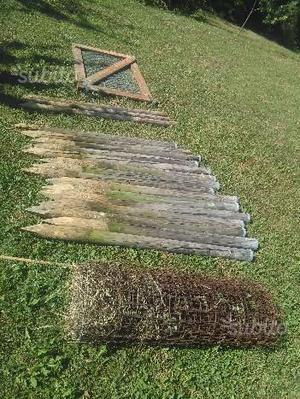 Materiale recinzione