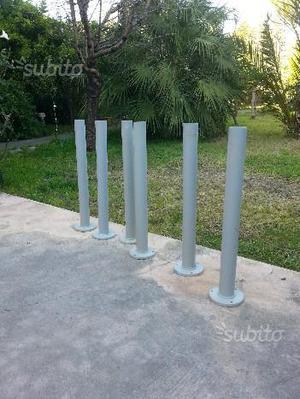 Paletti alluminio per ringhiere posot class - Ringhiere da giardino ...