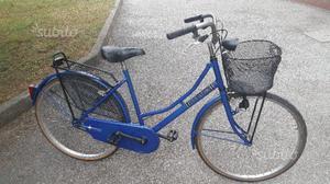 Bicicletta da donna Holland da 26 blu nuova