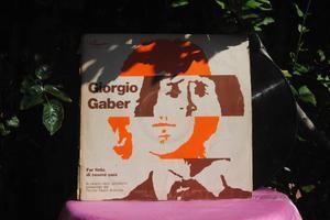 Giorgio Gaber 33 giri Euro 20