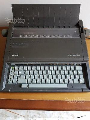 Macchina da scrivere elettrica ET 510 Olivetti