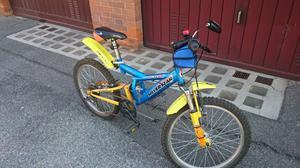 Mountain Bike con ammortizzatore da bambino