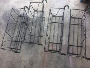 Portavasi portafiori sottovasi torino posot class - Porta vasi in ferro battuto ...