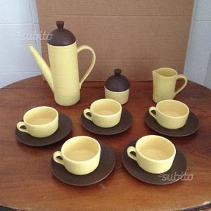 Servizio prima colazione in ceramica fine anni 50