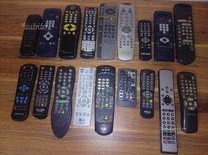 Telecomandi tv - decoder - stereo