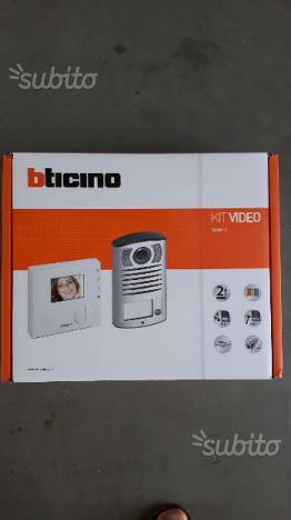 Telecamera videocitofono bticino biticino terraneo posot - Citofono per casa prezzi ...