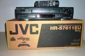 Videoregistratore JVC-SUPER VHS