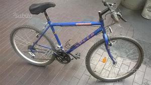 Bici MTB blu speed