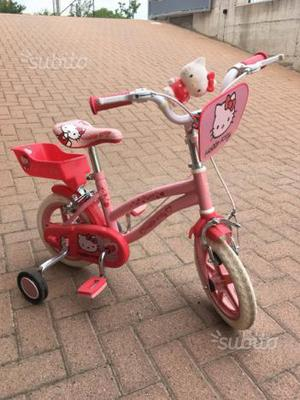 Bicicletta bambina 3 anni Hello Kitty