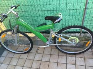 Bicicletta mountain bike pininfarina verde