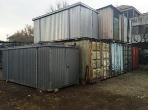 Box container abitabili da cantiere poirino posot class for Box in lamiera usati