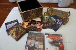 God of war 3 III trilogy edition rara ps3