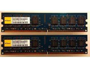 MEMORIA RAM 2GB DDR2 (2x1GB) PCU
