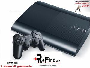 Playstation 3 slim 500gb 1 anno di garanzia