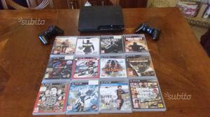 Playstation 3 slim - PS3 completa più 12 giochi