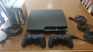 Ps3 slim 120 Gb 8 giochi