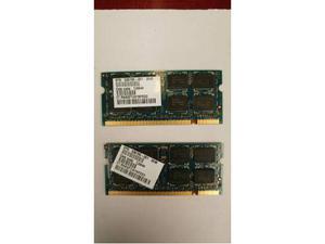 Ram 2x2gb ddr2 notebook