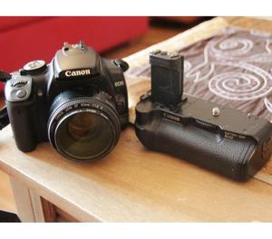 Reflex Canon 400d con batterigrip originale canon