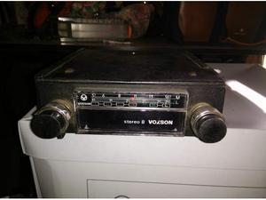 Voxson stereo 8 boccanera autoradio d'epoca originale