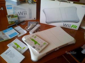 Wii balance board + gioco wii fit