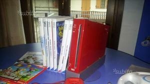 Wii rossa + 2 joystick + vari giochi