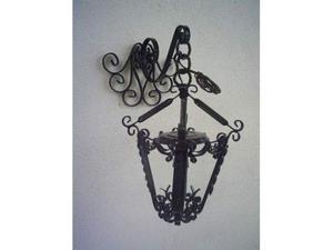 Applique in ferro battuto e cristallo stile posot class