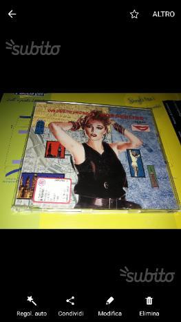 Burning up cd singolo Madonna