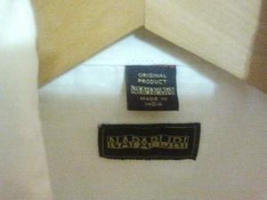 Camicia bianca Napapijri 100% lino taglia S