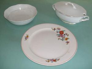 Ceramiche di Laveno: lotto di tre pezzi antichi