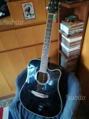 Chitarra elettro acustica ashton