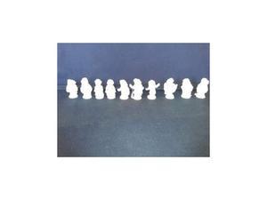 Collezione di 10 statue in Porcellana R.Ginori