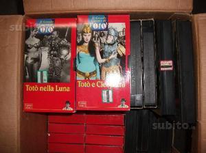 Collezione videocassette film di toto'