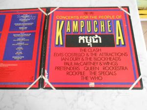 Concert for the people of kampuchea 2 lp vinile