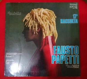 Fausto papetti sax raccolta n.17 lp 33giri anni 70